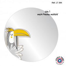 miroir jungle toucan