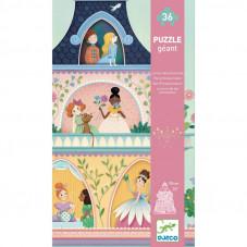 puzzle géant la tour des princesses
