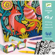 Coloriage 3D Forêt...