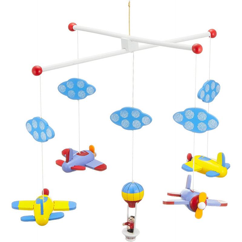 mobile avions montgolfière
