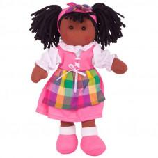 poupée chiffon noire