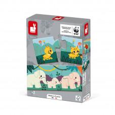 puzzle animaux janod