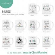 Mugs personnalisés Labeltour - Polipetitpois