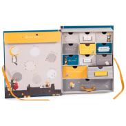 Coffret de naissance et livre de naissance enfant - Moulin Roty