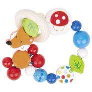 Hochet bois bébé - jouet d'éveil - cadeau de naissance - Polipetitpois