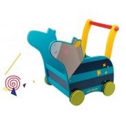 Chariot de marche bébé - jouets bois - Polipetitpois