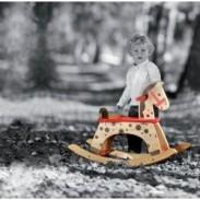 Porteur enfant - Cheval à bascule - Polipetitpois
