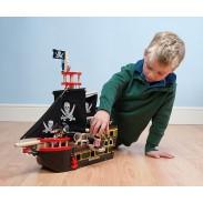 Bateau pirate bois - Pirates - Polipetitpois