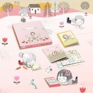 Papeterie pour enfants - Coffret Loisirs créatifs - Polipetitpois